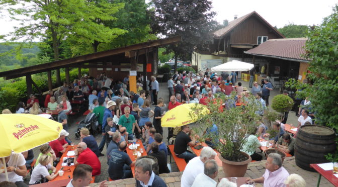 Vatertagsgrillfest am 25.5.2017